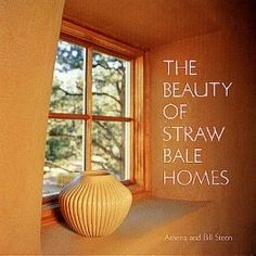 I've always wanted to build a straw bale home, I love how wide the window sills are.