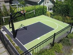 50 new Ideas basket ball court backyard fence Indoor Basketball Hoop, Ucla Basketball, Basketball Game Tickets, Outdoor Basketball Court, Basketball Videos, Basketball Tricks, Basketball Workouts, Basketball Shoes, Basketball Backboard