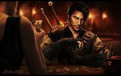 A few rounds of Gwent by DominiqueWesson.deviantart.com on @DeviantArt
