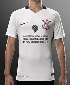 Camisa do Corinthians terá a conta da Chape no espaço master; veja imagem #globoesporte
