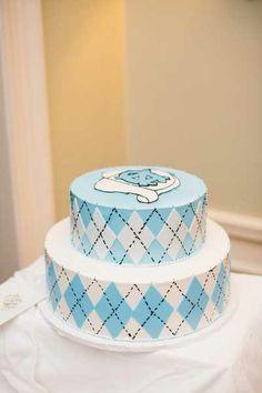 UNC wedding cake, UNC grooms cake