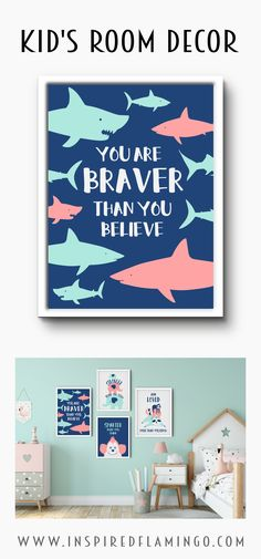 Create a gorgeous space for your little one with these positive and inspiring prints. Great in an animal themed bedroom. Available in custom colours to match your current decor. Princess Theme Bedroom, Princess Nursery, Baby Nursery Neutral, Baby Girl Nursery Decor, Girls Bedroom, Bedroom Decor, Personalised Prints, Little Girl Rooms, Nursery Inspiration