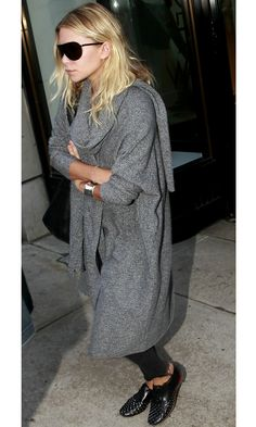 Olsens Anonymous Blog Ashley Olsen Oversized Cardigan And Studded Louboutins Nyc Candid Shopping Aviator Sunglasses Shopping In The City Wavy Hair Beachy Waves Soft Curls Shield Aviators Coat Wool Black Lace Up Shoes With Studs photo Olsens-Anonymous-Blog-Ashley-Olsen-Oversized-Cardigan-And-Studded-Louboutins-Nyc-Candid-Shopping.jpg