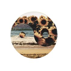 We love Sunflowers and Yin & Yang. What a combo!