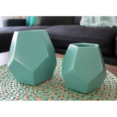 Homewares and Home Decor Online - Geometric Vase 13cm