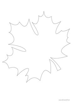 Design Your Own Pattern with Small Embroidery Motifs: Patterns to Use for Repeating Designs Sashiko embroidery isn't always repeating patterns. Leaf Coloring Page, Fall Coloring Pages, Leaf Template, Flower Template, Spring Crafts For Kids, Fall Crafts, Giant Paper Flowers, Fabric Flowers, Lily Shop