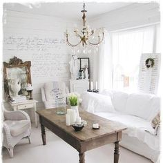 173 Best vintage living rooms images in 2019 | Shabby chic ...