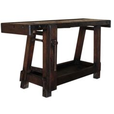WorkShop - Sawhorse's & Work Benches on Pinterest