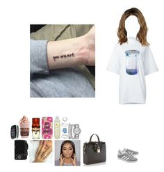 """""""A R T"""" by mija-lee ❤ liked on Polyvore featuring Cartier, Apples & Figs, adidas Originals, Y-3, Dolce&Gabbana, Rolex, Sydney Evan, Betteridge, Allurez and Agent 18"""