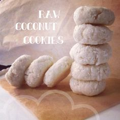 Raw Coconut Cookies