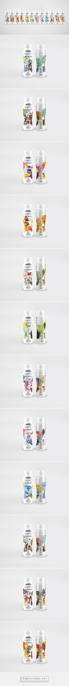 Milla Ayran limited edition packaging for European Games Baku 2015 via Packaging of the World curated by Packaging Diva PD. More really nice packaging illustrations.