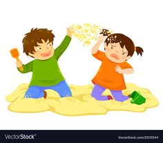 Naughty boy throwing sand at a little girl in the sandbox , Preschool Rules, Body Preschool, Preschool Worksheets, Preschool Learning, Safety Rules For Kids, Social Skills For Kids, Kindergarten Portfolio, Naughty Kids, Character Design Animation