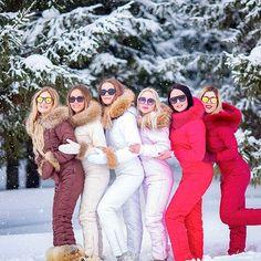 Какой цвет вам нравится больше всего? С удовольствием ждем вас на примерку! . Фото @alisatyt . Наш телефон 8 987 230 01 01 Ski Fashion, Winter Fashion Outfits, Ski Outfits, Down Suit, Winter Suit, Snow Outfit, Waterproof Winter Boots, Skiing, Winter Jackets