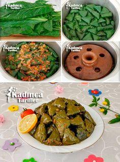 Chard Wrap Recipe, How To - sarmalar - Ramadan Desserts, Ramadan Recipes, Turkish Kitchen, Recipe Sites, Catering, Middle Eastern Recipes, Wrap Recipes, Turkish Recipes, Special Recipes