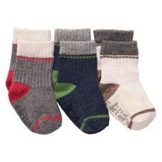$7.00 3-Pack Solid Ribbed Socks  Носочки.Три пары. Хлопок(65%), полиэстер, спандекс.