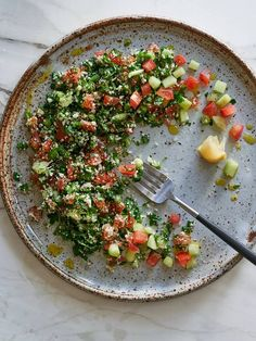 Alkaline Raw Cauliflower Tabouli
