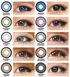 Color Contacts for Dark Eyes, want to shake things up a little.