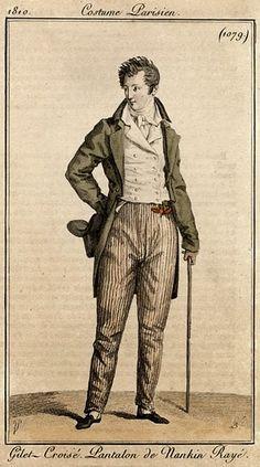 Costume Parisien 1810