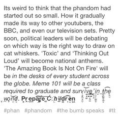 Soon the phandom will conquer all. Resistance is futile. Hail the cat whiskers.