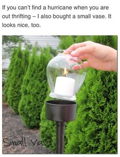 How to make outdoor candle lantern step by step DIY tutorial instructionsDON'T FORGET TO LIKE  AND FOLLOW
