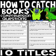 How to Catch Books Comprehension Questions, Book Title, Follow Me On Instagram, Tooth, Easter, Easter Activities, Teeth
