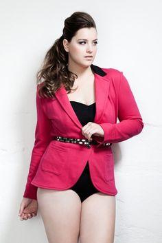 I think i need a pink blazer...