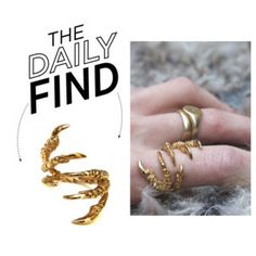 The Daily Find: Tessa Metcalfe Gold Ring