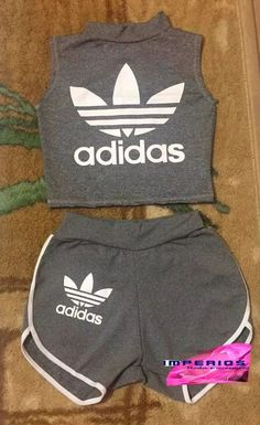 conjunto adidas shorts e cropped roupas feminina suplex - Cropped - Ideas of Cropped - conjunto adidas shorts e cropped roupas feminina suplex Cute Lazy Outfits, Chill Outfits, Teenage Outfits, Teen Fashion Outfits, Outfits For Teens, Trendy Outfits, Summer Outfits, Adidas Outfit, Nike Outfits