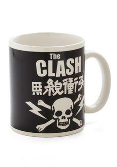 Did You Stand by Tea Mug - Black, White, Novelty Print, Music