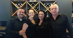 Owners of the new North Fork Taps & Corks welcome first customers