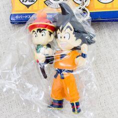 Dragon Ball Z Gokou + Gohan Figure Key Chain JAPAN ANIME MANGA