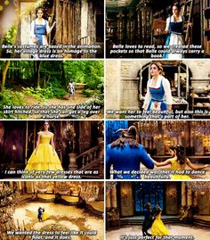 Beauty and the Beast 'Dresses' Featurette - Belle - Emma Watson