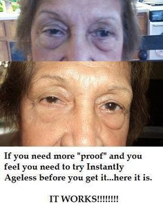 Instantly Ageless This stuff really works. To order yours today go to: http://InstantlyAgeless.amoreyouthfulyoutoday.com/
