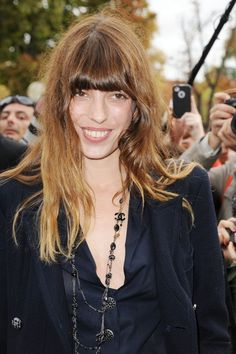 Lou Doillon Photos - Arrivals at the Chanel Spring-Summer 2013 Collection Show…