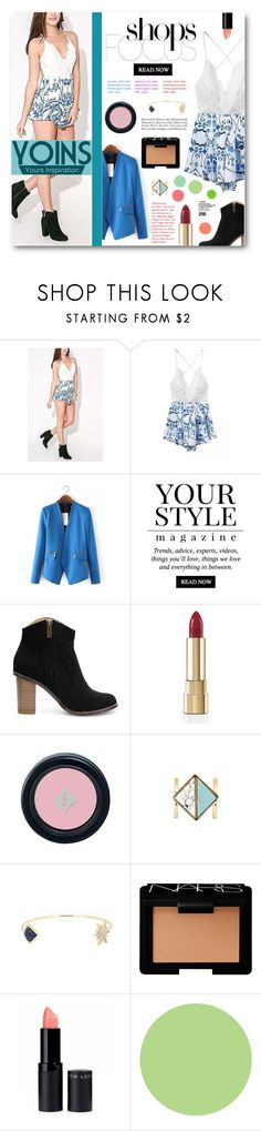"""Shops Focus - Yoins"" by tasnime-ben ❤ liked on Polyvore featuring Pussycat, Dolce&Gabbana, NARS Cosmetics, WallPops and yoins"
