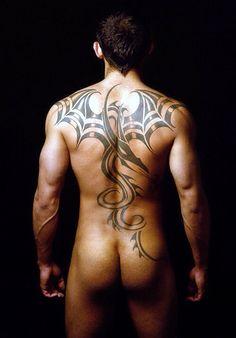 tattoo dragon man butt penis