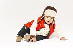 Shearling trapper hat #GapLove. Must have one of these for my future son!