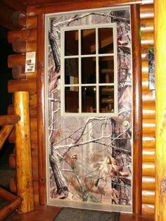 My door will be camo with everything else in my house Country Decor, Rustic Decor, Country Style, Country Girls, Camo Furniture, Future House, My House, Happy House, Hunting Camo