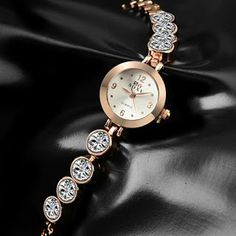 SOXY Luxury Diamond Bracelet Watch Women Fashion Gold Watches Popular Bangle Ladies Watch Lady Hour relogio feminino reloj mujer What a beautiful image Visit us Fashion Accessories, Fashion Jewelry, Women Jewelry, Trendy Watches, Gold Watches, Cheap Watches, Women's Watches, Gold Fashion, Womens Fashion