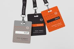 Graphic Design - Event Badges  Infoedge by Realist, via Behance