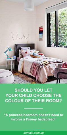 Any well-meaning parent who has decked their daughter's bedroom in everything-Elsa only to be told that Disney's Frozen is for babies a year later will know that decorating kids' rooms is a tricky business. Girl Room, Girls Bedroom, Design A Space, Backyard For Kids, Minimalist Bedroom, Kid Spaces, Bed Spreads, Bedroom Designs, Bedroom Ideas
