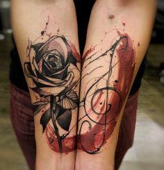 Energetic Ink Drawings as Tattoos by Felipe Rodrigues. http://illusion.scene360.com/art/89204/felipe-rodrigues/