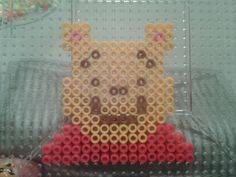 Winnie the Pooh perler beads by Eleka Peka