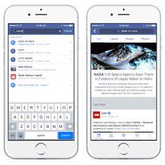 Facebook se dote enfin d'un vrai moteur de recherche