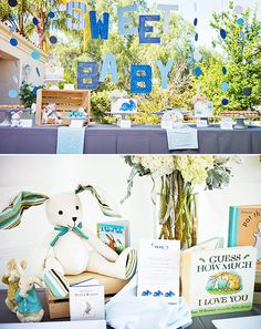 Peter Rabbit party theme by A Good Affair Wedding & Event Production