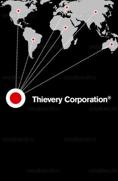 Design by BRAUN for the contest to create a poster for Thievery Corporation #music #thieverycorporation