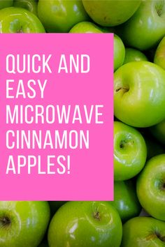 Quick and Easy Microwaved Cinnamon Apples Popular Recipes, Great Recipes, Favorite Recipes, Simple Recipes, Recipe Ideas, Baked Apples, Cinnamon Apples, Learn To Cook, Food To Make