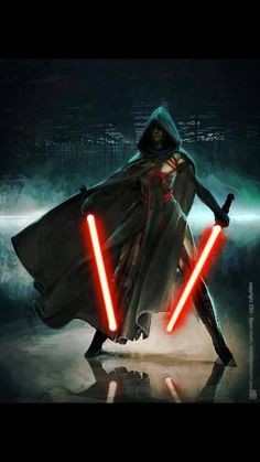 Sith. Or undercover Jedi. Which is it?