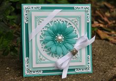 Mother's Day Card - Scrapbook.com - Made with Spellbinders.