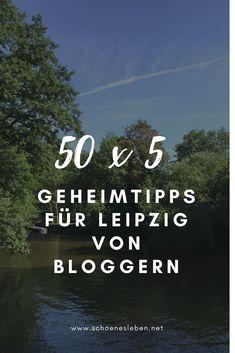 50 x 5 Geheimtipps für Leipzig von Bloggern. #leipzig #leipzigtipps #leipziggeheimtipps #leipzigsehenswürdigkeiten #leipzigaltstadt #leipziginnenstadt #städtetripleipzig #kurztripleipzig #insidertippsleipzig Weekend Trips, Germany Travel, Camping, World, Travelling, Restaurants, Landscapes, Travel, Paisajes